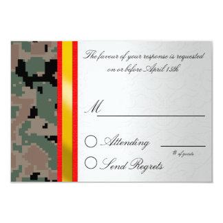 デジタルカムフラージュの応答カード カード