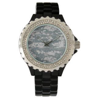 デジタルカムフラージュ 腕時計