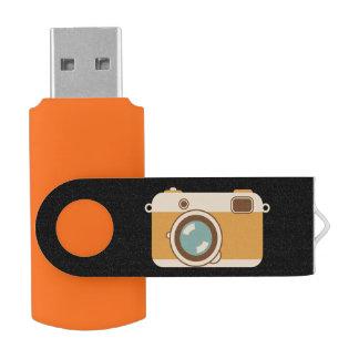 デジタルカメラの写真 USBフラッシュドライブ
