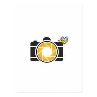 デジタルカメラの蜜蜂 ポストカード