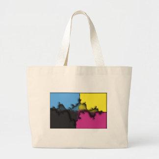デジタルグラフィックアート ラージトートバッグ