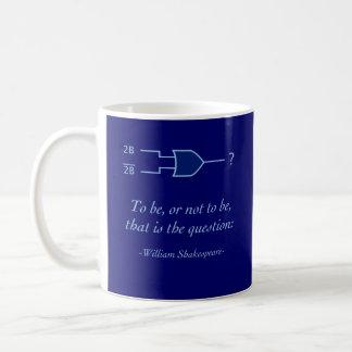 デジタルシェークスピア コーヒーマグカップ