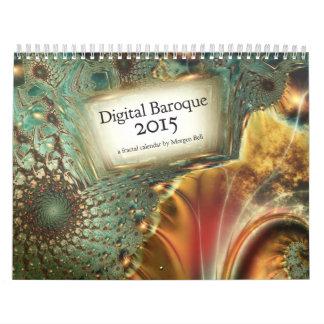デジタルバロック2015のカレンダー カレンダー