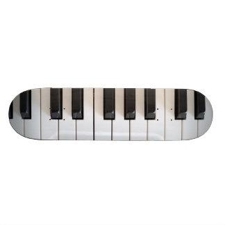 デジタルピアノキーボード 18.4CM ミニスケートボードデッキ