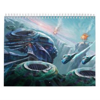 デジタルファンタジーのコレクション カレンダー