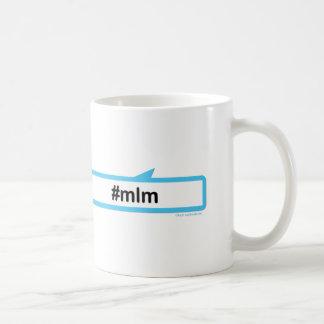 デジタル中指 コーヒーマグカップ