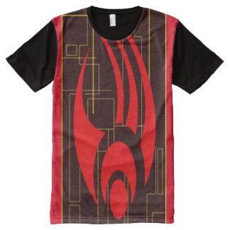 デジタル同盟議会ファンタジーの記号 オールオーバープリントT シャツ