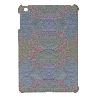 デジタル大理石の光沢がある青いパターンiPad Miniケース iPad Mini Case