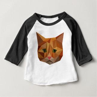 デジタル子猫 ベビーTシャツ