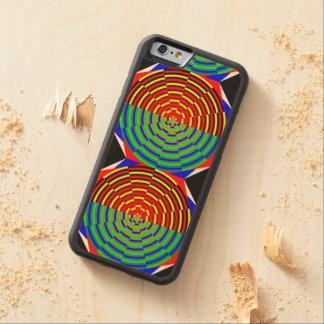 デジタル日没 CarvedメープルiPhone 6バンパーケース