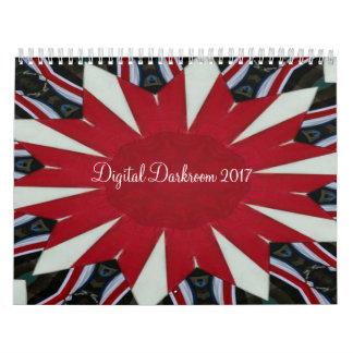 デジタル暗室2017年-カレンダー カレンダー