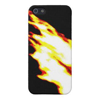 デジタル火 iPhone 5 COVER