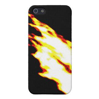 デジタル火 iPhone SE/5/5sケース