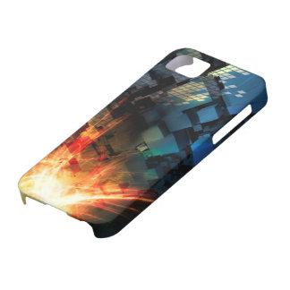 デジタル火 iPhone SE/5/5s ケース