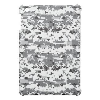 デジタル灰色のカムフラージュパターン iPad MINIケース