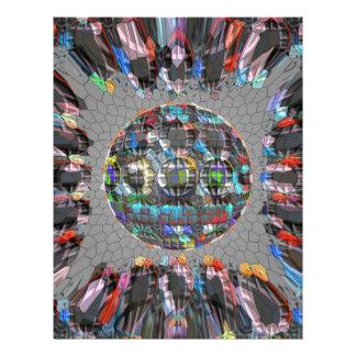 デジタル色彩の鮮やかで芸術的なダイヤモンド レターヘッド