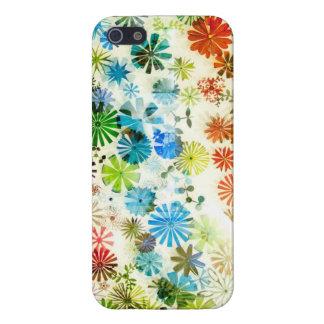 デジタル花模様 iPhone 5 CASE