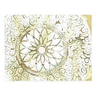 デジタル芸術のデザイン ポストカード