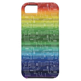 デジタル虹 iPhone 5 ケース