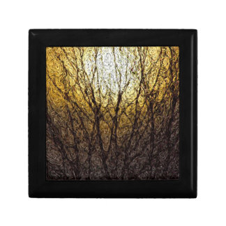 デジタル表現主義: 枝の日光 ギフトボックス