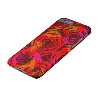 デジタル赤いバラ BARELY THERE iPhone 6 ケース
