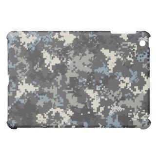 デジタル迷彩柄のiPadの場合 iPad Miniカバー
