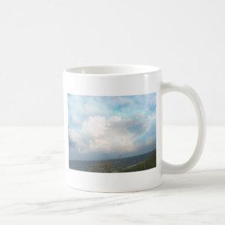 デジタル雲のマグ コーヒーマグカップ