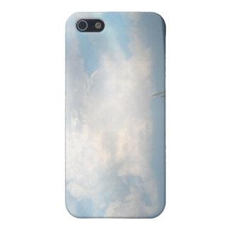 デジタル雲 iPhone 5 カバー