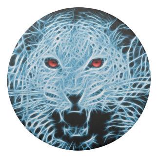 デジタル青いヒョウのフラクタル 消しゴム