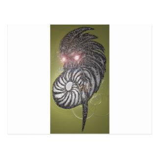 デジタル鬼の芸術 ポストカード