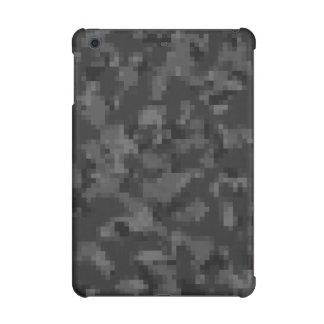 デジタル黒い迷彩柄