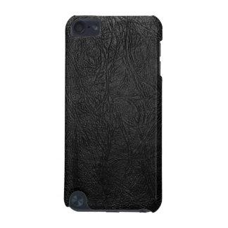 デジタル黒い革 iPod TOUCH 5G ケース