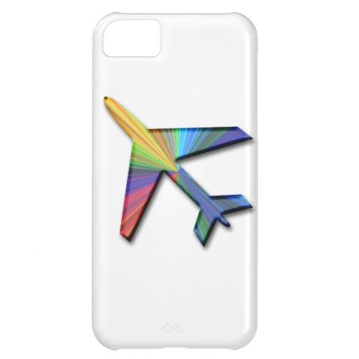 デジタル|飛行機 iPhone 5C カバー