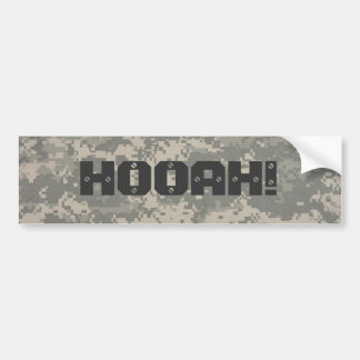 デジタル、HOOAH! ハンマーのスタイル バンパーステッカー