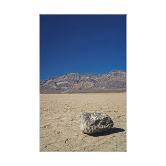 デスヴァレーの砂丘 キャンバスプリント