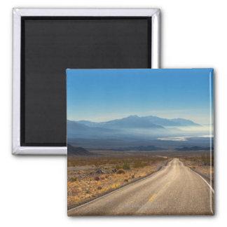 デスヴァレーの道3カリフォルニア米国 マグネット