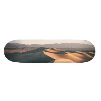 デスヴァレーのMesquiteの砂丘 18.7cm ミニスケートボードデッキ