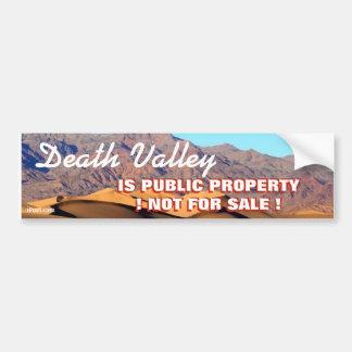 デスヴァレーは販売のための公共財産ない!です。 バンパーステッカー