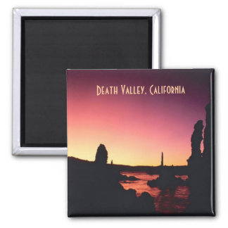 デスヴァレーカリフォルニアの写真旅行記念品の磁石 マグネット