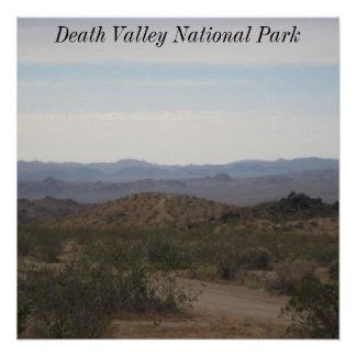 デスヴァレー国立公園 ポスター