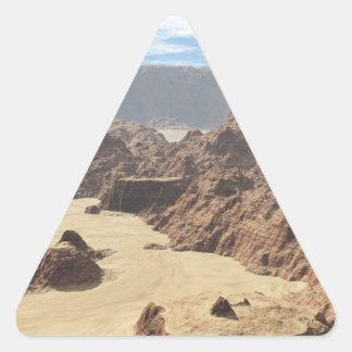 デスヴァレー10 三角形シール