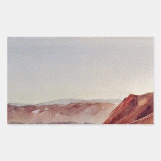 デスヴァレー-北端 長方形シール