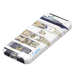 デッキの大尉 iPhone 5 カバー