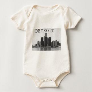 デトロイトスカイライン ベビーボディスーツ