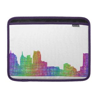 デトロイトスカイライン MacBook スリーブ