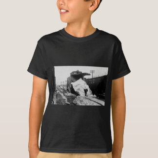 デトロイトトレド及びIrontonの鉄道除雪機 Tシャツ