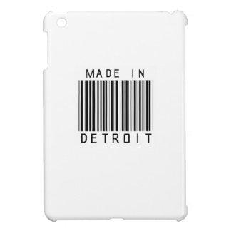 デトロイトバーコードで作られる iPad MINIケース