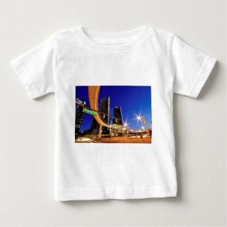 デトロイトミシガン州ジェファーソン道 ベビーTシャツ