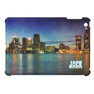 デトロイトミシガン州スカイライン iPad MINIケース