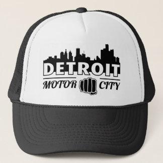デトロイトモーター都市スカイラインのトラック運転手の帽子 キャップ